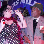 Mrs Mills Experience Xmas party at the Brixton Offline Club, Friday 20th December2013