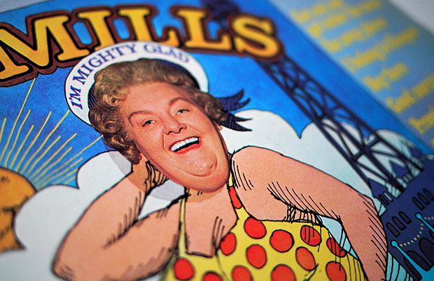 Mrs Mills I'm Mighty Glad album cover