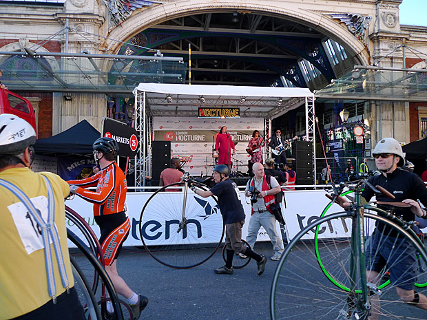 The Mrs Mills Experience at the London Nocturne,Smithfield Market, Farringdon, central London, Saturday 9th June 2012